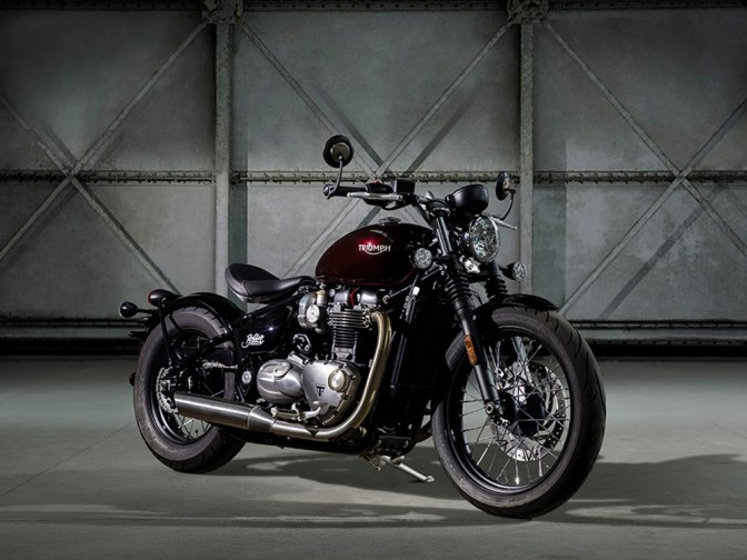 2017 Triumph Bobber unveiled in the UK