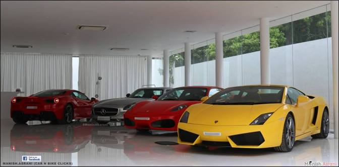 This is not a showroom but the living room of a Chennai car collector