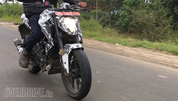 New generation KTM 200 Duke spied for the first time