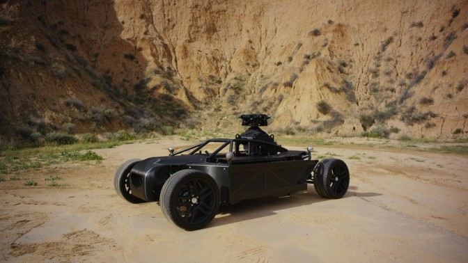 Meet the Mill Blackbird that can convert into any car on the big screen!