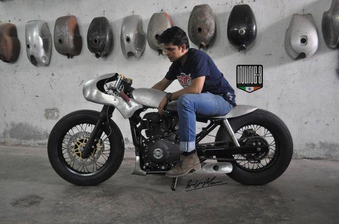 First ever modified Royal Enfield Himalayan has arrived and it looks A.W.E.S.O.M.E!!