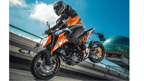 Meet the new 2017 KTM 200 Duke