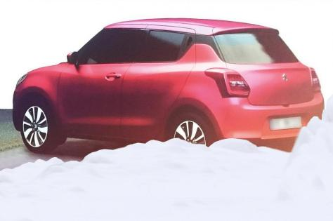 new-model-maruti-swift-2017-rear-three-quarter-red-leaks