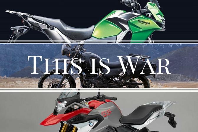 Royal Enfield Himalayan Vs Kawasaki Versys X 300 Vs Bmw G 310 Gs