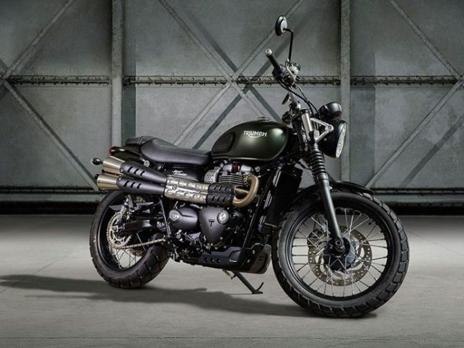 Triumph Motorcycles unveils the new Street Scrambler at EICMA