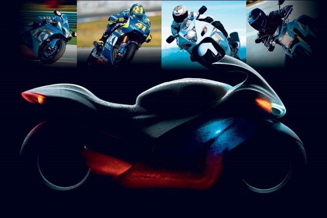 Next Generation Suzuki Hayabusa in the making