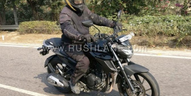 Yamaha FZ25 spotted getting tested, to launch by mid 2017