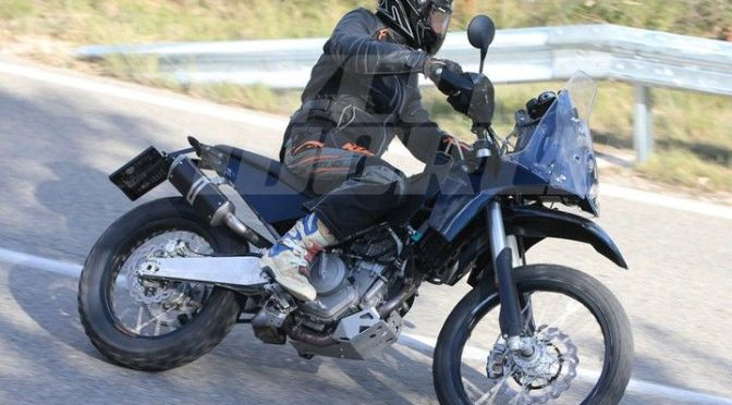 KTM 390 Adventure bike spied for the first time