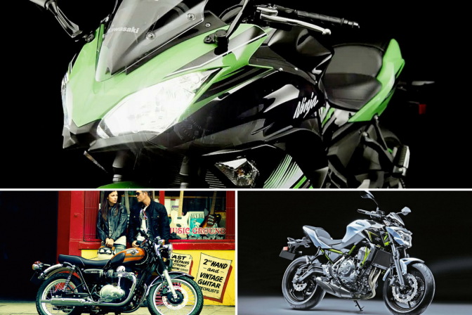 Four brand new bikes to be launched by Kawasaki next month in India