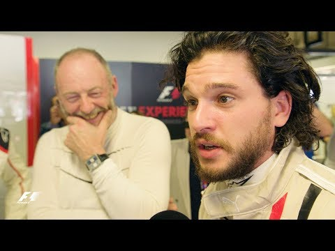 Video: Watch Game of Thrones stars – Jon Snow and Ser Davos, doing a Lap at Monza in an F1 car