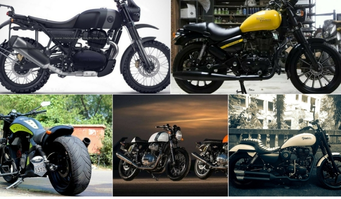Upcoming Royal Enfield bikes in 2018