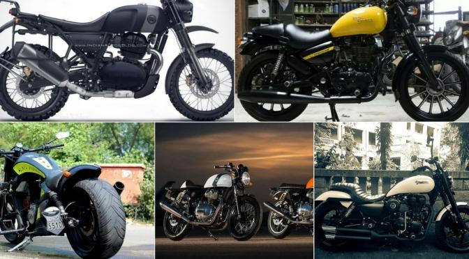 Upcoming Royal Enfield bikes in 2018