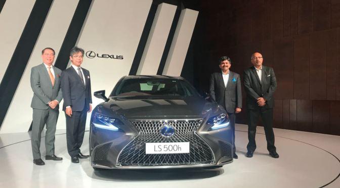 Lexus makes way to India with the launch of Rs 1.7 Crore car, the LS 500h