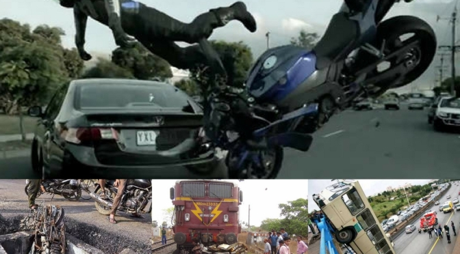 Videos: 5 Bad overtaking Indian road accident videos that will make you puke your guts out