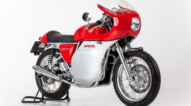 Jawa 350 Special showcased