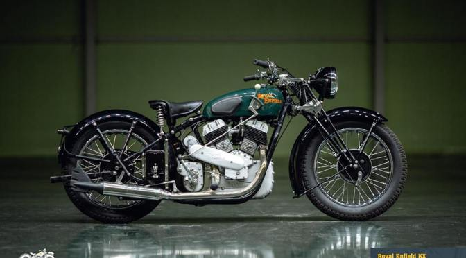 Video: Meet Royal Enfield KX 1140cc – The Twin cylinder monster from 1938