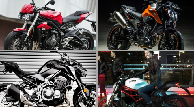 KTM 790 Duke vs Ducati Monster 797 vs Triumph Street Triple S vs Kawasaki Z900 – Specification Comparison