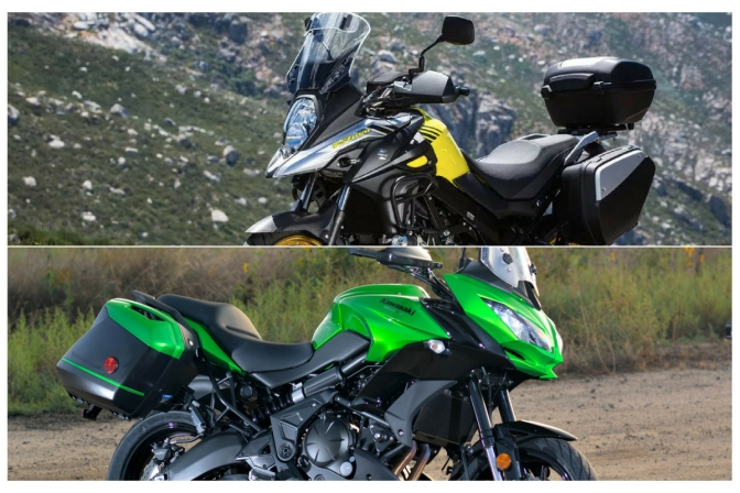 Suzuki V-Strom 650 vs Kawasaki Versys 650 – Specification Comparison