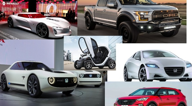 Upcoming cars in India 2018-2019, new car launch in India